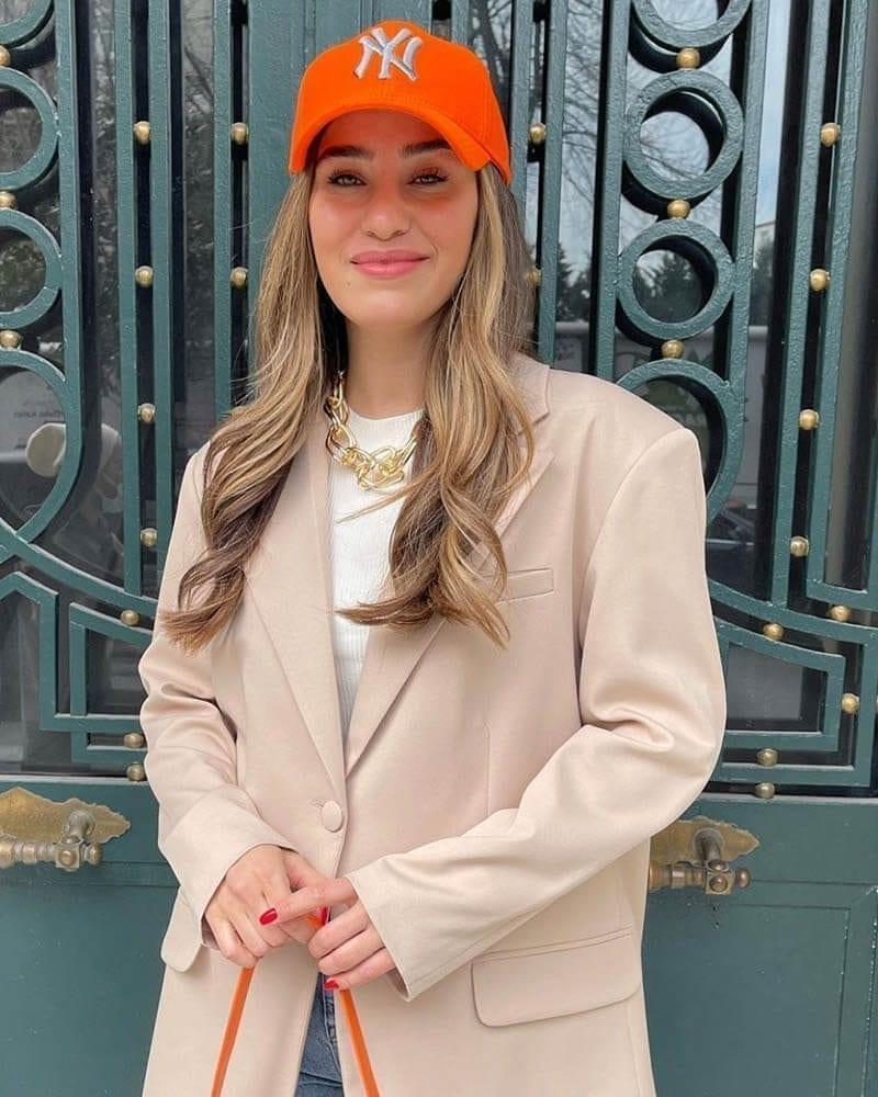 Unisex καπέλο jockey-πορτοκαλί 100% βαμβακέρο